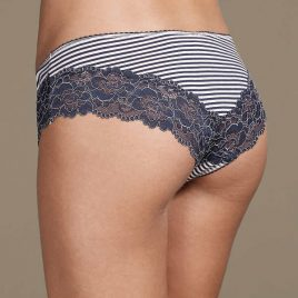 Isabella Lace Trim Brazilian Knickers
