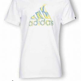 adidas Flame Logo Tee Shirt