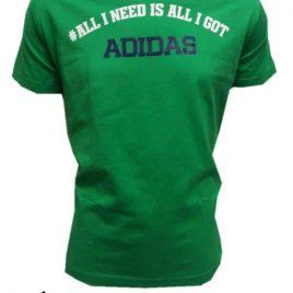 adidas Green QQRY Tee Shirt