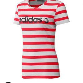 adidas V Stripe Tee Shirt