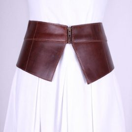 ASOS Big Leather Brown Fasion Belt