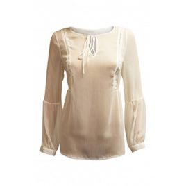 Wallis White Sheer Top