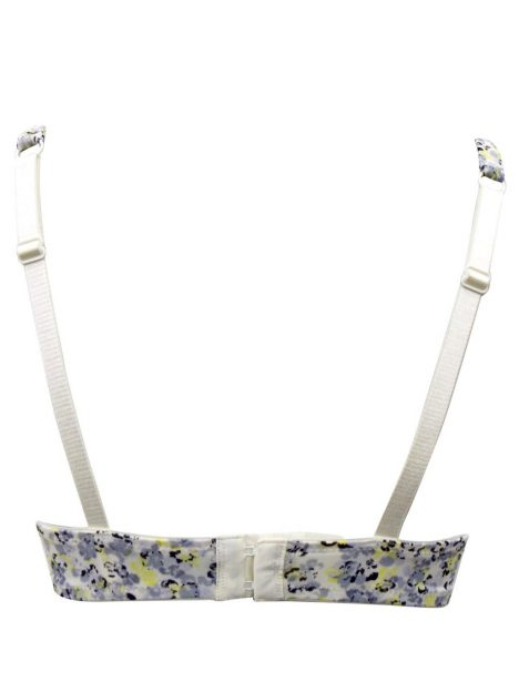 M&S Neon Floral Padded & Wired Bra 2
