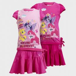 My Little Pony Girls 2-Piece PJ Set
