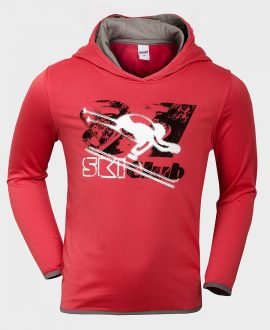 Pocopiano Boys Thermo Hooded Sweatshirt