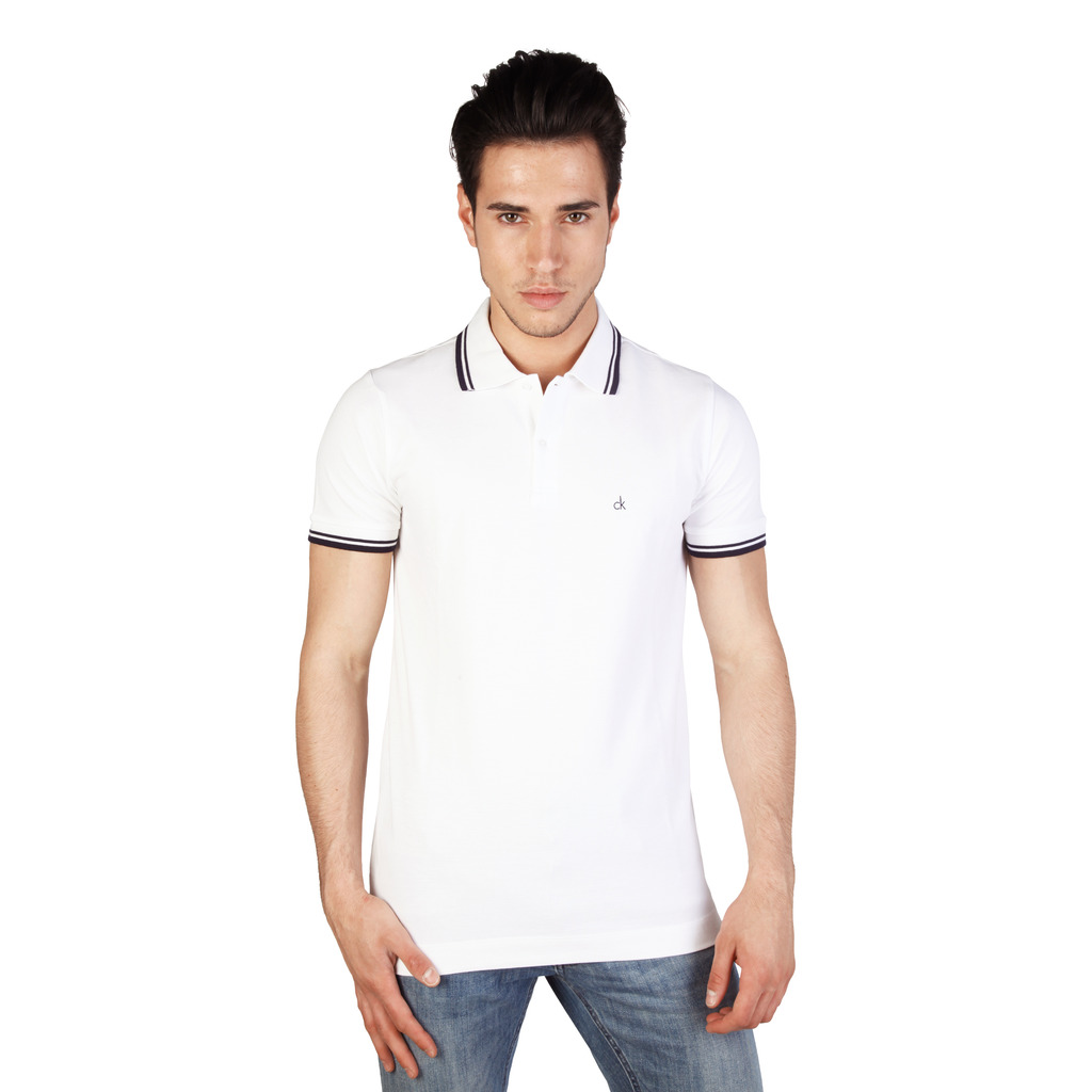Calvin klein short sleeve mens polo t shirt tiqqette for Mens collared t shirts