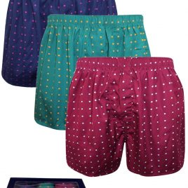 Charles Tyrwhitt ASSORTED 3-Pack Pure Cotton Spotted Woven Boxers