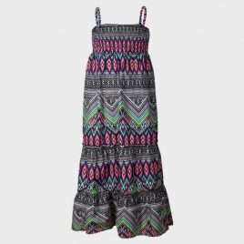 Multi Pattern Maxi Dress