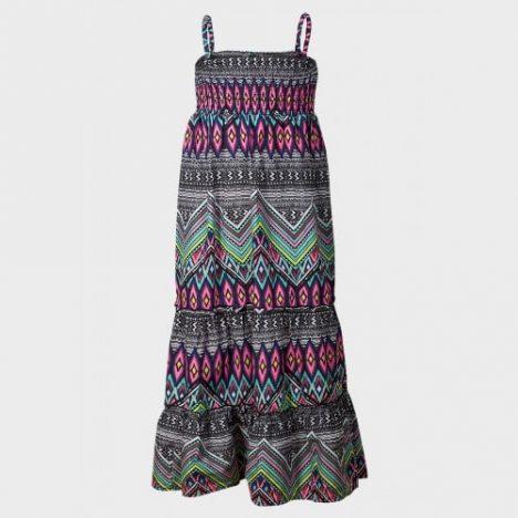 Multi Pattern Maxi Dress