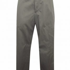 M&S DARK-KHAKI Pure Cotton Chinos