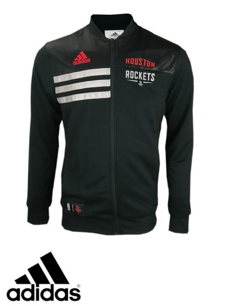 Men's Adidas 'Houston Rockets' Track Top