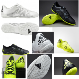 Assorted Selection of Adidas X15.4 INDOOR Football Trainers