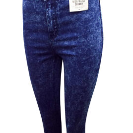 Premium Wash High Waist Skinny Jeans