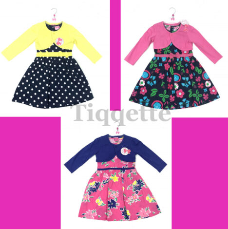 Colourful Selection of Girls Bolero Sets