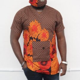 Nekes Pure Danchiki Ethnic Top with Branded Face Mask